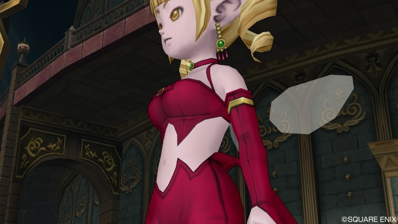 ドラクエ10 DQX 妖艶な魔女セット 胸 エルフ 人間