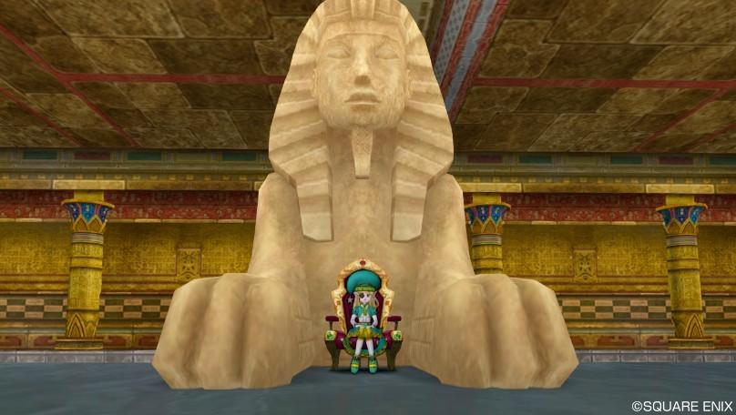 ドラクエ10 家具 スフィンクスの石像