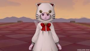 ドラクエ10 装備 白猫セット 肉球