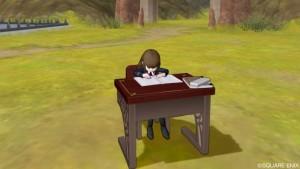 ドラクエ10 しぐさ 勉強する 人間子供