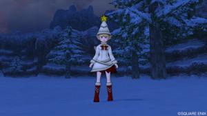 ドラクエ10 2015年クリスマス衣装 ノエルドレス