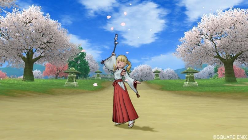 ドラクエ10 しぐさ 桜の魔法 桜マジック