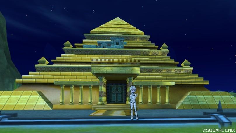 ドラクエ x ピラミッド