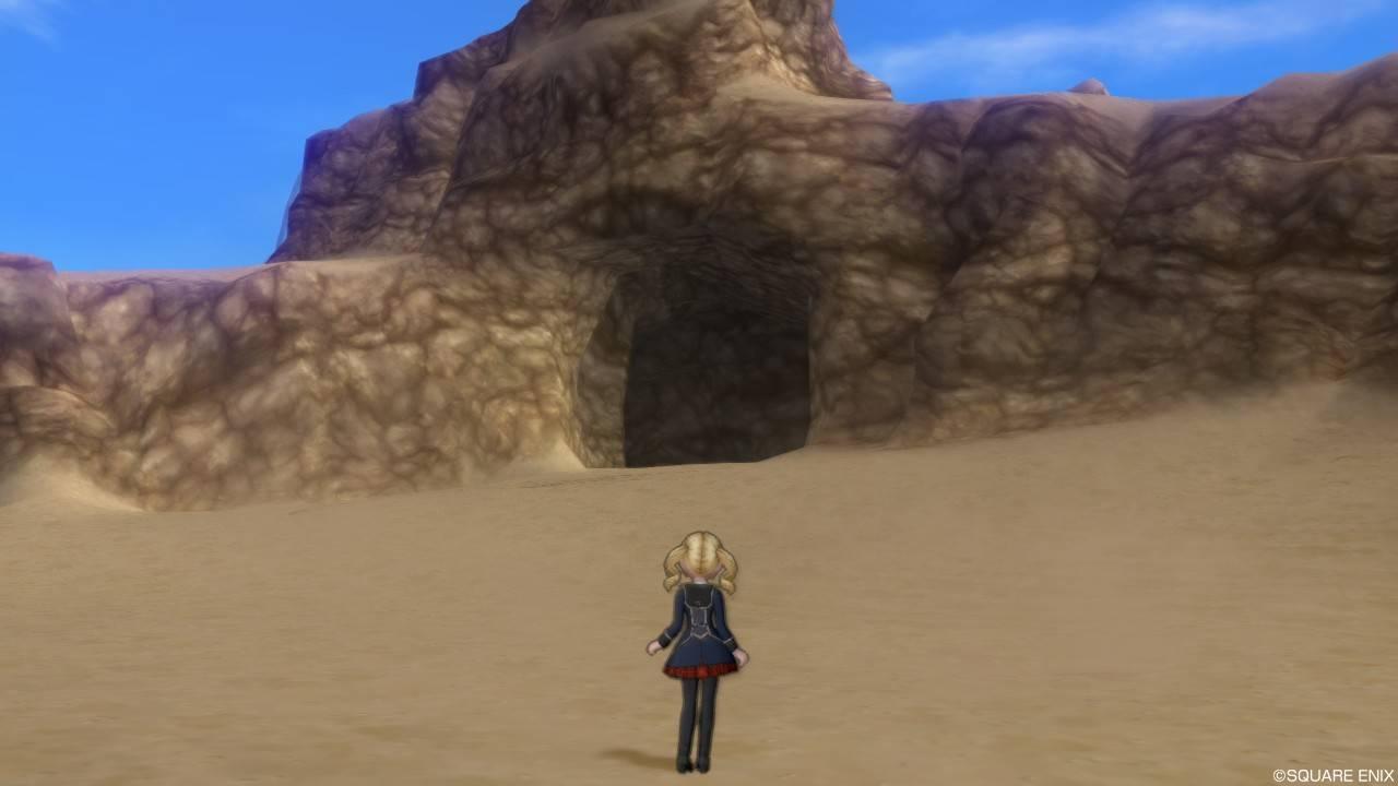 ドラクエ10 流砂の隠れ家 場所 入り方