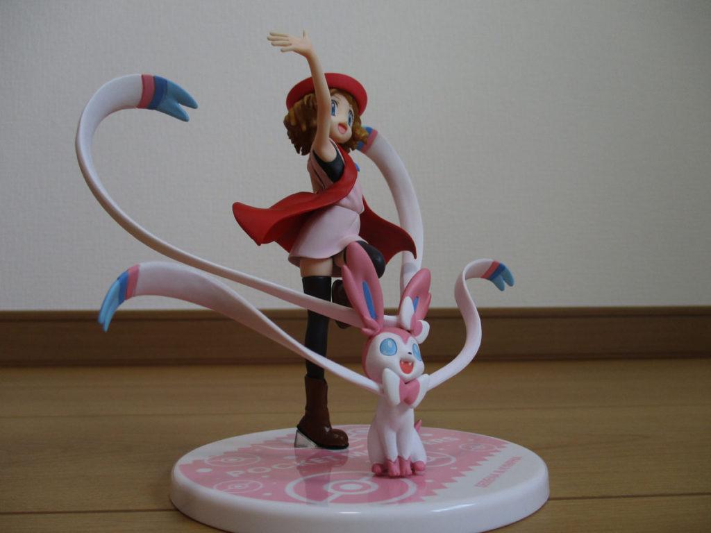 ポケモン フィギュア セレナ ニンフィア かわいい
