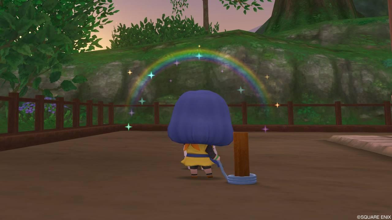 ドラクエ10 庭具 虹呼びセラフィ