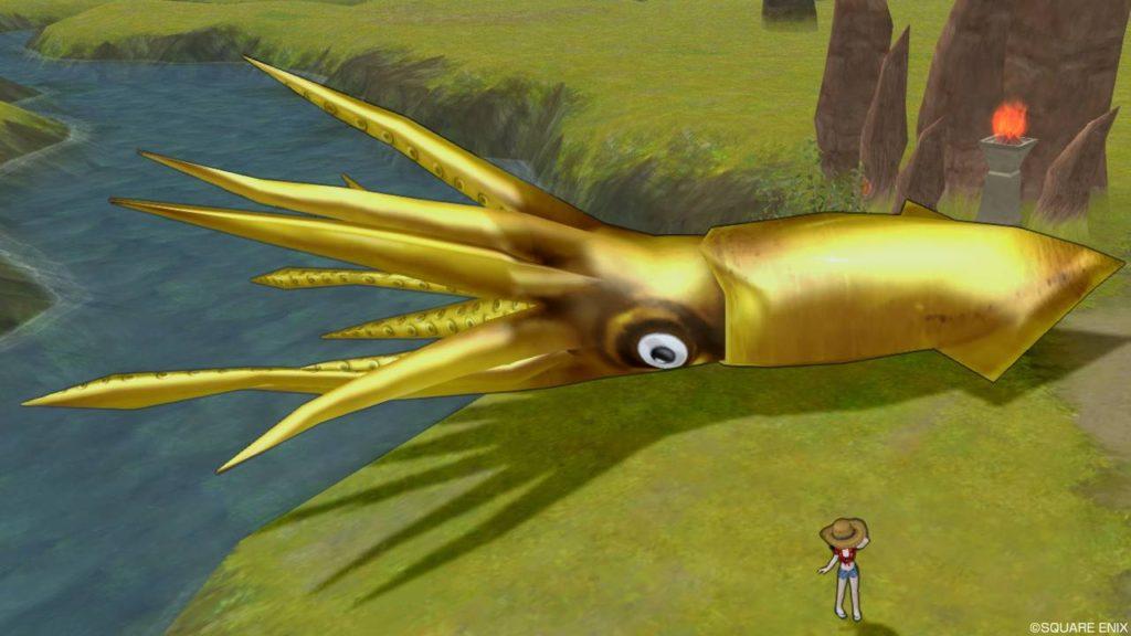 ドラクエ10 釣り イベント フィッシング イカグランプリ 旬の黄金のイカ