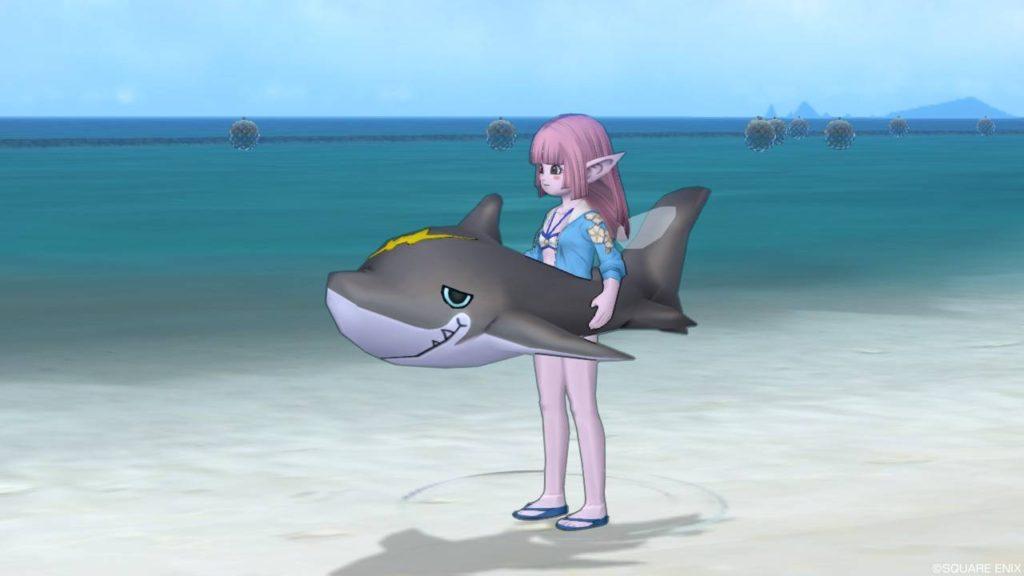 ドラクエ10 イベント 幻の海 トラシュカ 2018 浮き輪 親分ザメの浮き輪