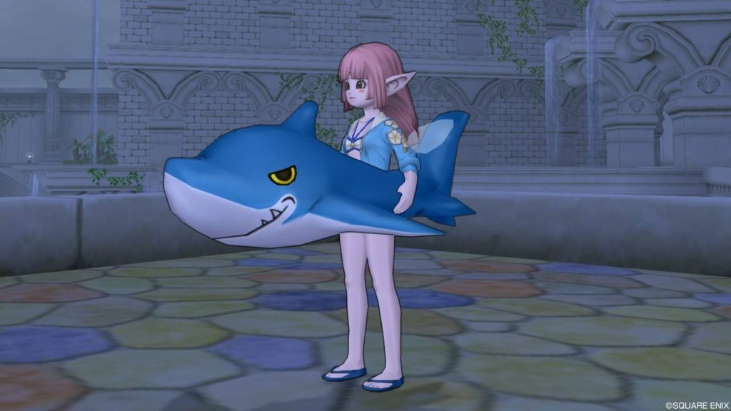 ドラクエ10 サメ 浮き輪
