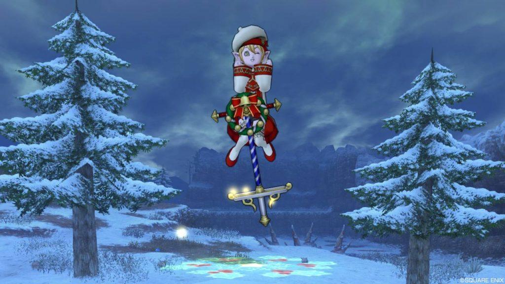 ドラクエ10 クリスマス イベント 2018 ドルボード リースホッパープリズム