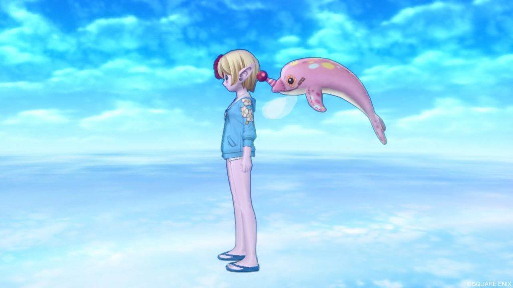 ドラクエ10 ピンク イルカ ふわふわペコリア