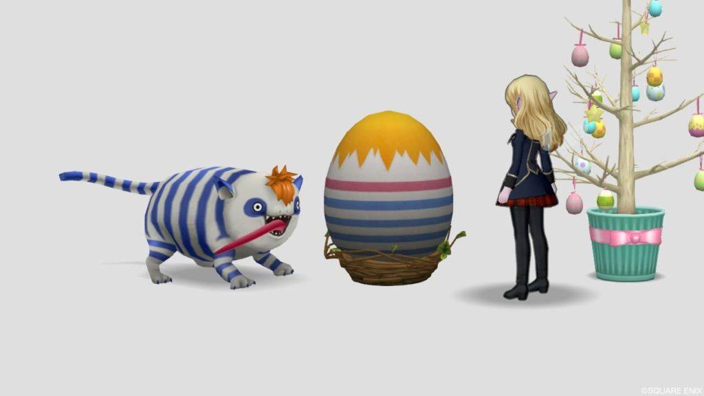 ドラクエ10 イベント 春 2019 妖精の国 新作家具 モンスターのカラフル卵