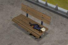 ドラクエ10 庭具 ベンチ 庭用ベンチ風ベッド