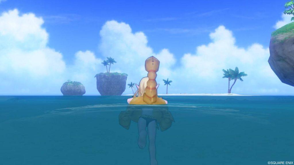 ドラクエ10 おおさそりの浮き輪 かわいい トラシュカ