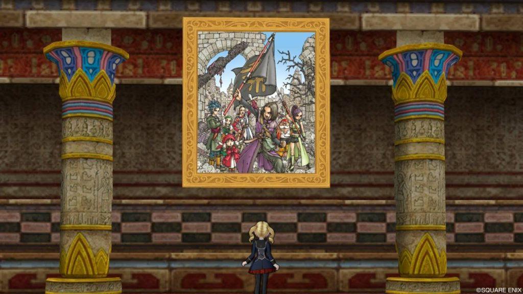 ドラクエ10 ドラクエ11 コラボ 壁掛けDQXIの絵
