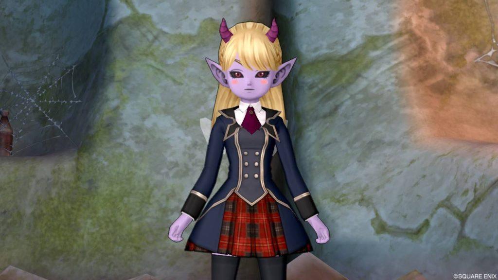 ドラクエ10 バージョン5 魔界 キャラ 魔族 見た目 紫 変わる