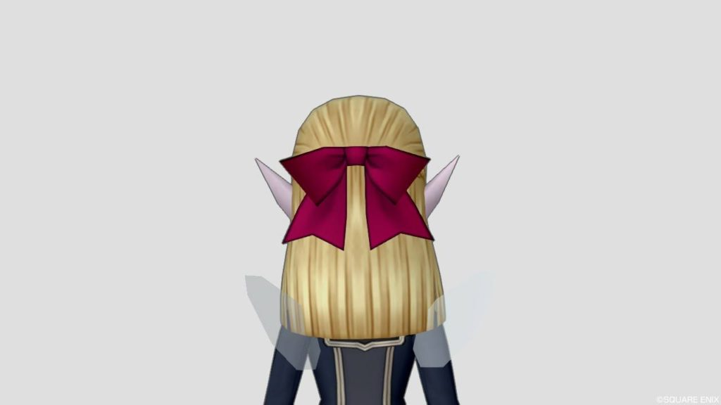 ドラクエ10 バージョン5.0 新しい 髪型 エルフ