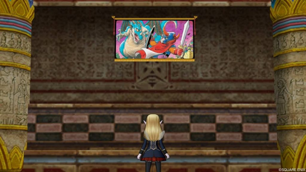 ドラクエ10 家具 壁かけDQⅠの絵