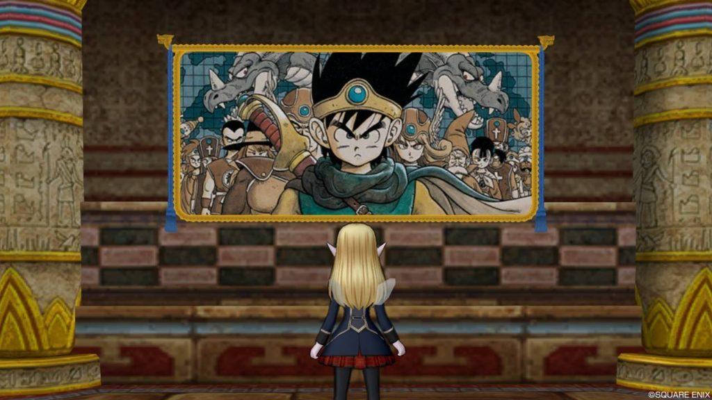 ドラクエ10 家具 壁かけDQⅢの絵