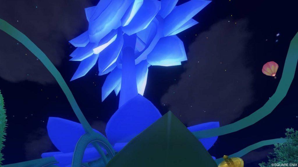 ドラクエ10 キラキラ大風車塔 夜