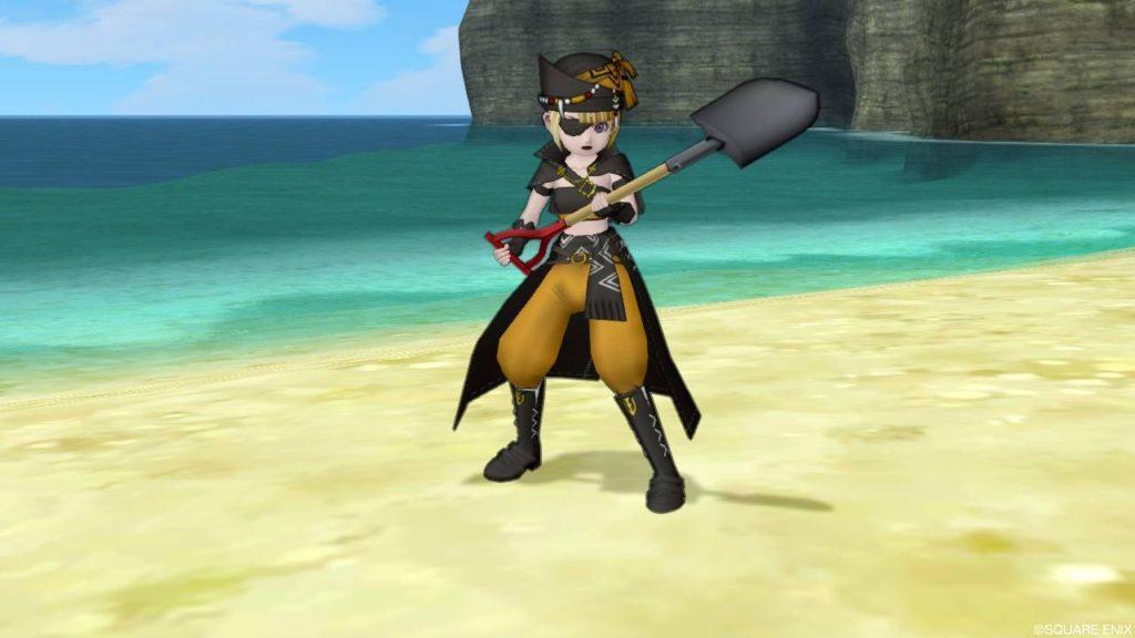 ドラクエ10 コルセアマントセット 装備 海賊 人間子供