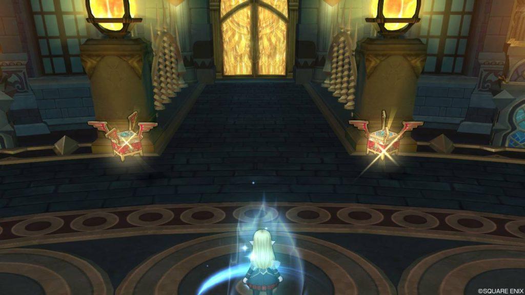 ドラクエ10 王家の迷宮 心層の迷宮 悔恨の園 極箱 輝き右大臣