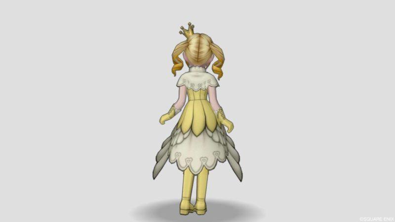 ドラクエ10 バレンタイン 衣装 2021年 マジカルガールスーツ マジカルドレス