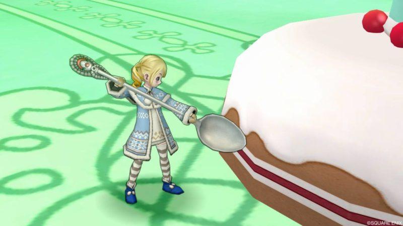 ドラクエ10 ヤリ スプーン デザートスプーン