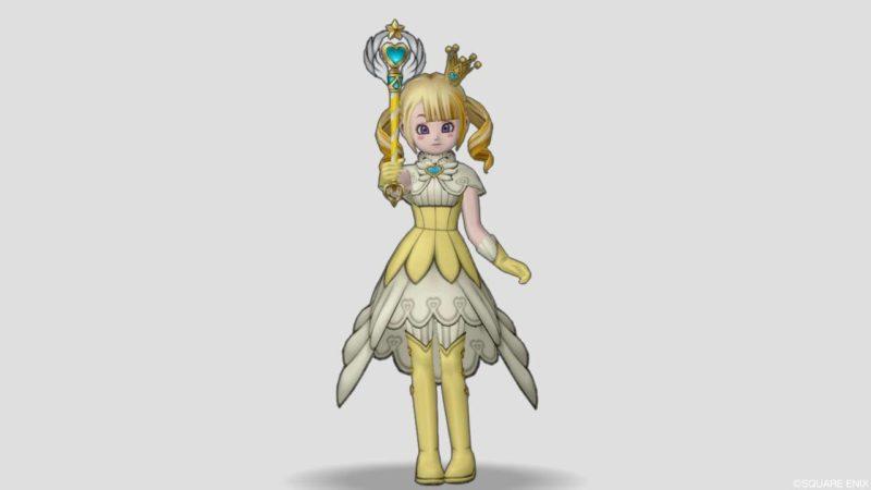 ドラクエ10 2021 9回 バレンタイン 衣装 マジカルガールスーツ 夢と魔法のステッキ