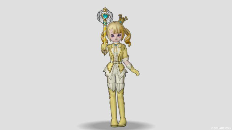 ドラクエ10 2021 9回 バレンタイン 衣装 マジカルスーツ 夢と魔法のステッキ