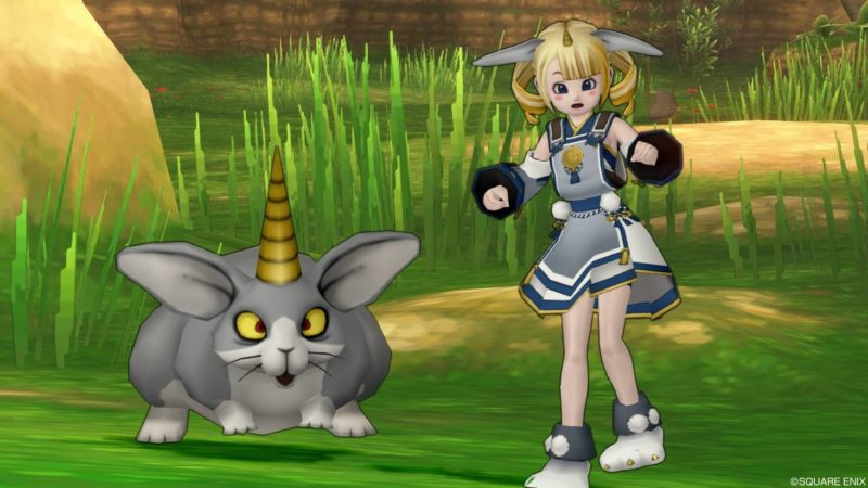 ドラクエ10 装備 ウサギ魔物の装束 いっかくウサギ かわいい