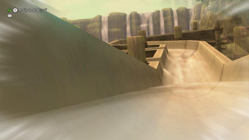 ドラクエ10 2021年 エイプリルフール ワルド水源 ウォータースライダー ウォータスライダーク