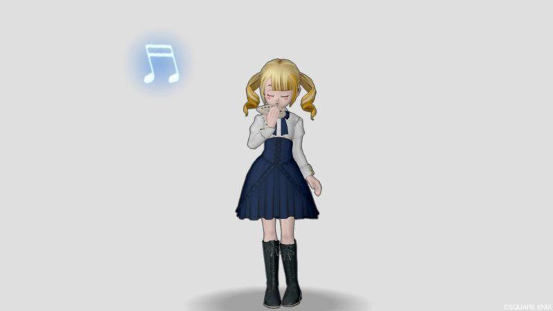 ドラクエ10 しぐさ 演奏 オカリナ かわいい