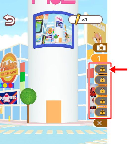 スマホ ゲーム アプリ モルカー もぐもぐパーキング カメラポイント 追加