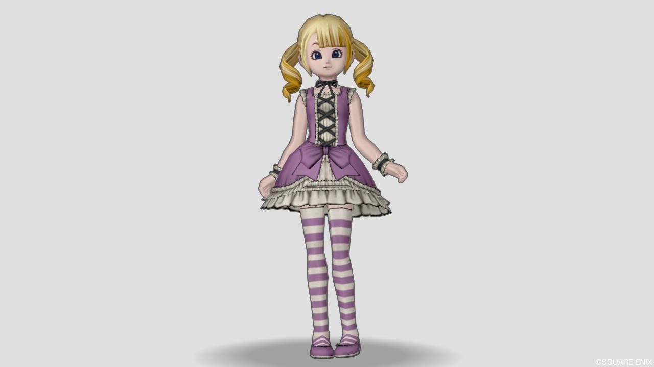 ドラクエ10 リンベリィのドレスセット かわいい
