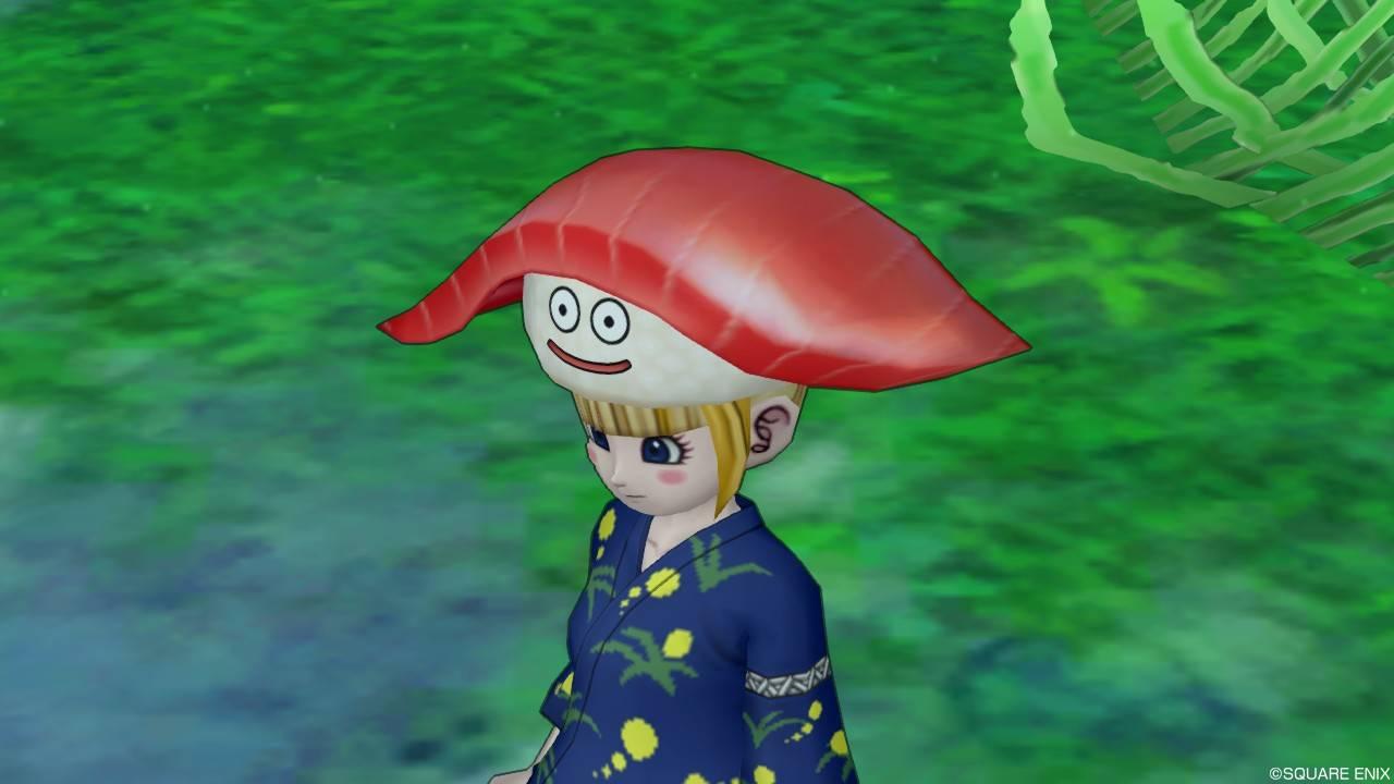 ドラクエ10 すしざんまい コラボ お寿司スライム帽